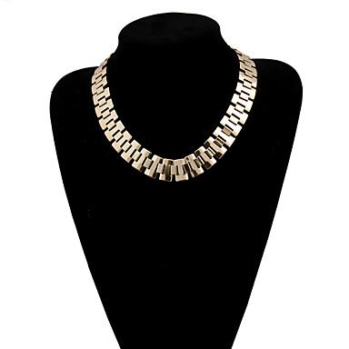 여성용 초커 목걸이 / 계층화 된 목걸이 - 멀티 레이어 골든 목걸이 제품 결혼식, 파티, 일상