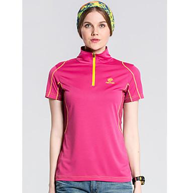여성의 티셔츠 / 탑스 캠핑 & 하이킹 / 피싱 / 레저 스포츠 / 사이클링/자전거 / 크로스-컨츄리 / 산간(오지) / 오토바이 / 달리기 통기성 / 빠른 드라이 / 착용 가능한 봄 / 여름 레드 / 퍼플 / 스카이 블루-스포츠-M / L /