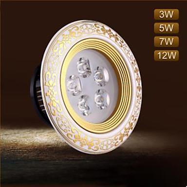 100 lm LED Deckenstrahler 3 Leds Integriertes LED Dekorativ Warmes Weiß Kühles Weiß Wechselstrom 220-240V
