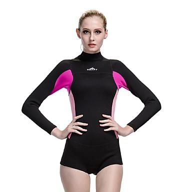 Žene 2mm Mokra odijela Drysuits Dive Skins Kratko mokro odijeloVodootpornost Ugrijati Ultraviolet Resistant Potpuno vodootporno (20,000