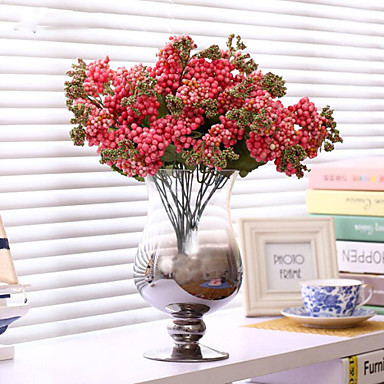 Artificial Flowers 1 Branch Simple Style Plants / Baby Breath Tabletop Flower