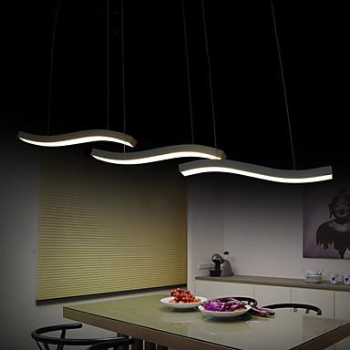 Modern/Zeitgenössisch LED Pendelleuchten Moonlight Für Wohnzimmer Schlafzimmer Esszimmer Studierzimmer/Büro Kinderzimmer Spielraum