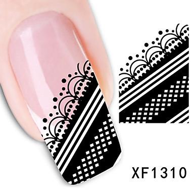 20PCS Nail Art tarra Vesi Siirto Tarra Abstrakti Cartoon Lovely meikki Kosmeettiset Nail Art Design