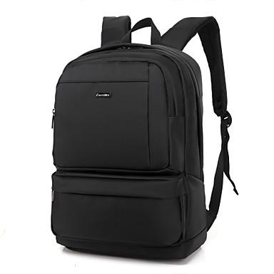 15,6 tuuman vedenpitävä unisex kannettava reppu selkäreppu selkäreppu matkustaa reppu koululaukku MacBook / dell / hp jne
