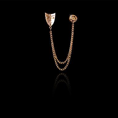 Miesten Naisten Gold Plated Metalliseos Muoti Kultainen Korut Häät Party Päivittäin Kausaliteetti