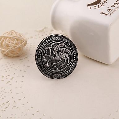 Film nakit pjesma leda i vatre Igra prijestolja targaryen zmaj značka broš retro ovratnikom pin za muškarce veleprodaju