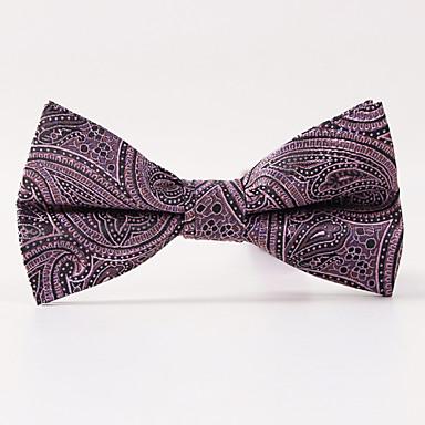 festa dos homens / noite casamento uva paisley uma gravata borboleta formal