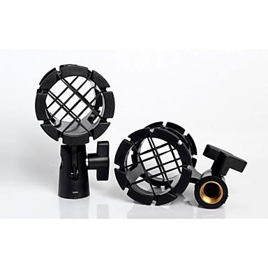 Mikrofon sap mikrofon Darbeye sıcak ayakkabı ile evrensel mikrofon Darbeye dayanıklı klip