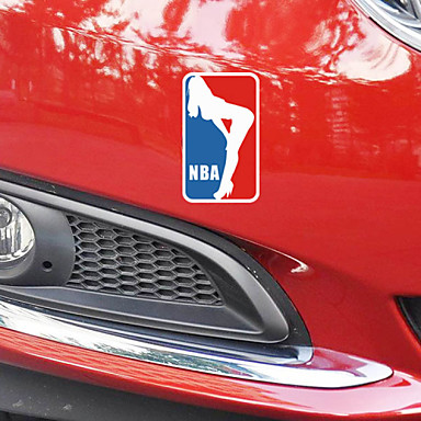 hauska koripallo urheilun kauneuden auto tarra auton ikkunasta Seinätarrat auton muotoilu (1kpl)