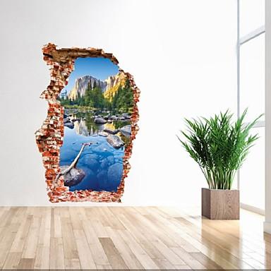 Životinje Ljudi Mrtva priroda Romantika Moda Oblici Vintage Odmor Crtani film Slobodno vrijeme Fantazija Zid Naljepnice 3D zidne