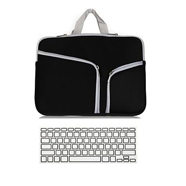 2 em 1 laptop tampa da caixa do ultrabook saco de manga caderno com capa de teclado para MacBook Pro retina ar 11