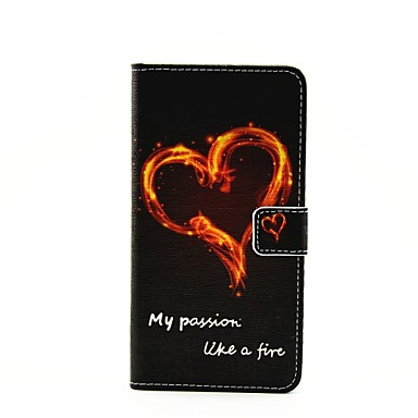 Etui Käyttötarkoitus Samsung Galaxy Samsung Galaxy kotelo Korttikotelo Tuella Flip Magneetti Kuvio Suojakuori Sana / lause PU-nahka varten