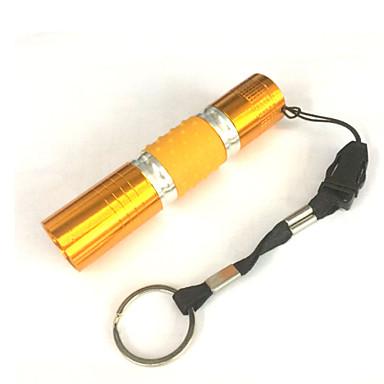 1 LED taskulamput LED 100 lm 1 Tila LED Vedenkestävä Pimeänäkö Pienikokoiset Telttailu/Retkely/Luolailu Päivittäiskäyttöön Kulta