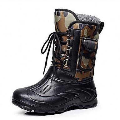 ao ar livre sapatos de neve botas de pesca impermeáveis novos homens de caça sapatos