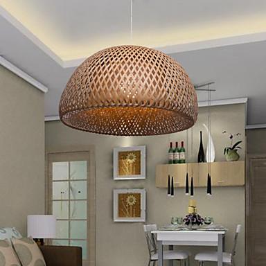 Lysekroner ,  Vintage Andre Trekk for LED Tre/ Bambus Stue Soverom