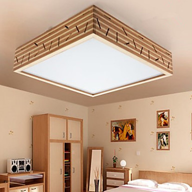 Traditionel / Klassisk LED Takplafond Omgivelseslys Til Stue Soverom Leserom/Kontor 220-240V Pære Inkludert