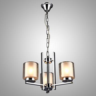 Modern / Comtemporary Lusteri Ambient Light - Mini Style svijeća Style, 110-120V 220-240V Bulb not included