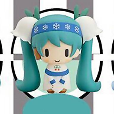 애니메이션 액션 피규어 에서 영감을 받다 보컬로이드 Hatsune Miku 11 CM 모델 완구 인형 장난감