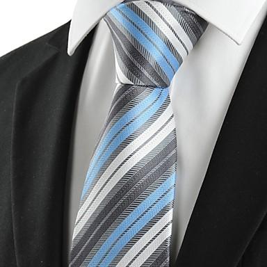Solmio-Polyesteri,Raidallinen,Harmaa / Sininen