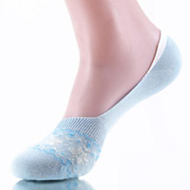 Lavtsittende Sokker Dame Pustende Svettereduserende Lavfriksjons-6 Par til Yoga & Danse Sko Pilates Golf Sykling/Sykkel Trening