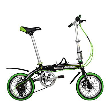 dequilon 14-inčni šest prijenosnika sklopivi bicikl disk kočnice bicikla pijacama