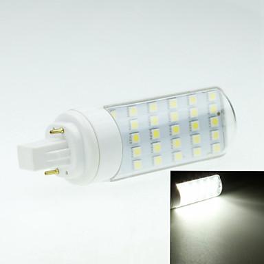 4W G24 LED Bi-Pin lamput Pyörivä 30 ledit SMD 5050 Koristeltu Lämmin valkoinen Kylmä valkoinen 250-300lm 2800-3200 6000-6500K AC 85-265V