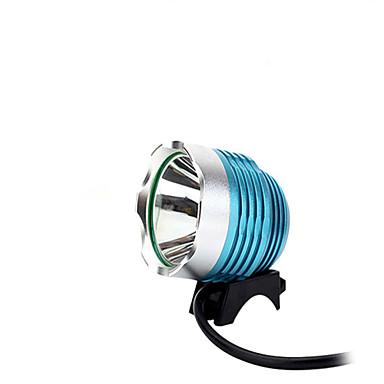조명 자전거 라이트 LED 1000 루멘 3 모드 LED USB 조절가능한 초점 / 방수 / 응급 캠핑/등산/동굴탐험 / 사이클링 / 여행 / 멀티기능 알루미늄 합금