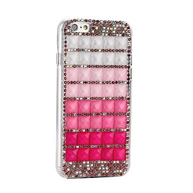 Uusi hyytelö kaltevuus DIY timantti puhelimen tapauksessa tpu koskee iphone6 / 6s