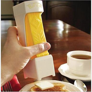 yhdellä klikkauksella voita leikkuri leikkuri - viipaleina w / yksi squeeze - kaksinkertaistuu voita lautasen