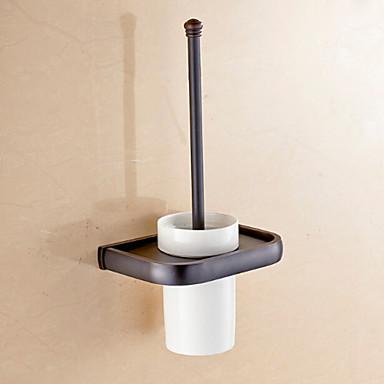 WC-Bürstenhalter Badezimmer Gadget / Antikes Messing Neoklassizistisch
