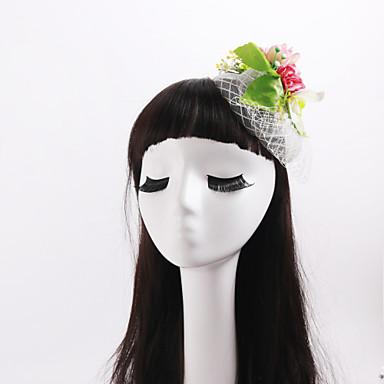 szövet műanyag nettó virágok fejdísz klasszikus női stílusban
