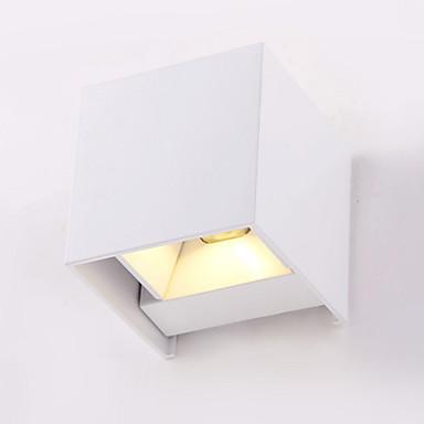 Modern / Zeitgenössisch Wandlampen Metall Wandleuchte 110-120V / 220-240V 6W / integrierte LED