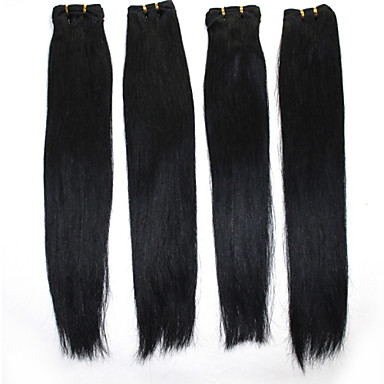 Hiukset kutoo Brasilialainen Straight 12 kuukautta 3 osainen hiukset kutoo