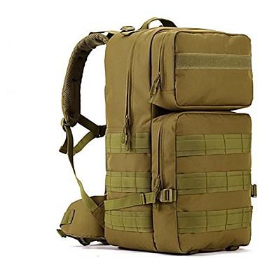 55L L ruksak Backpacking paketi Camping & planinarenje Putovanje Vodootporno Podesan za nošenje Najlon
