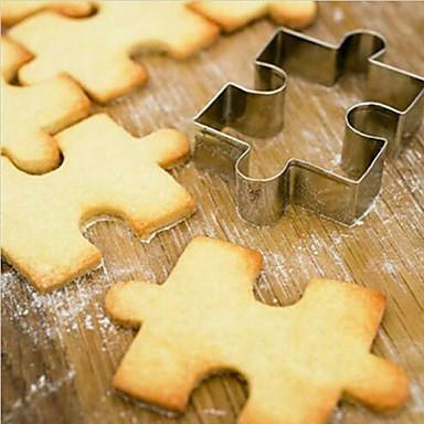 Bakeware verktøy Rustfritt Stål Til Småkake Tekneserie Formet Kakekniv 1pc