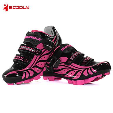 SIDEBIKE נעליים לאופני הרים נעלים לרכיבת אופניים בגדי ריקוד נשים נגד החלקה ריפוד אוורור פגיעה עמיד למים נושם עמיד בפני שחיקה אופני הרים