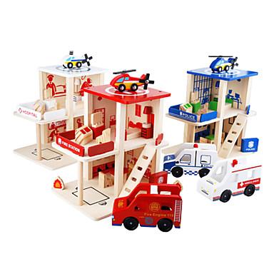 소방서, 어린이를위한 경찰 퍼즐 (3~6년 이전).