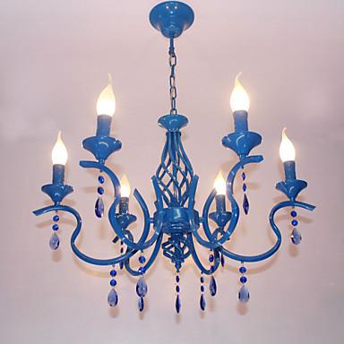 6-Light Lusteri Uplight - dizajneri, 110-120V / 220-240V Bulb not included / 10-15㎡ / E12 / E14
