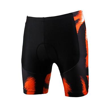 ILPALADINO Bermudas Acolchoadas Para Ciclismo Homens Unisexo Moto Shorts Shorts Acolchoados Calças Roupa de Ciclismo Secagem Rápida A