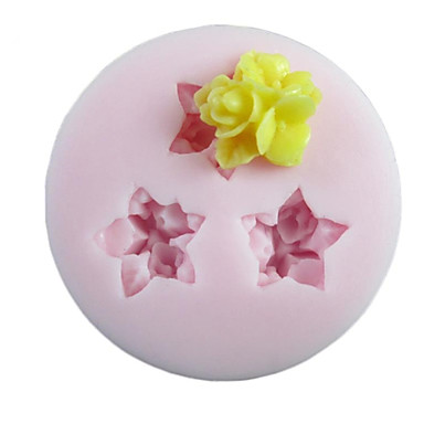 Backform Blume Obstkuchen Plätzchen Kuchen Silikon Umweltfreundlich Heimwerken Danksagungen
