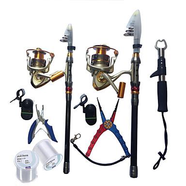 cheap Fishing Rods-Telespin Rod 180,270 cm Telescopic Extra Heavy (XH) Sea Fishing Ice Fishing Spinning / Freshwater Fishing / Bass Fishing / Lure Fishing / General Fishing / Trolling & Boat Fishing