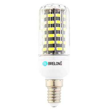 7W 600 lm E14 LED Mais-Birnen T 64 Leds SMD Warmes Weiß Kühles Weiß Wechselstrom 220-240V