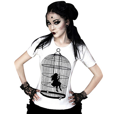 Bluza / Shirt Classic/Tradicionalna Lolita Cosplay Lolita Haljine Print T-majica Za Lycra Terilen
