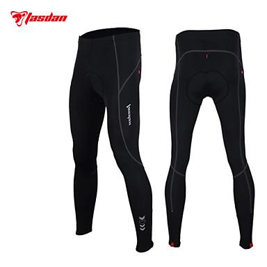 TASDAN Calças Elásticas para Ciclismo Homens Moto Meia-calça Calças Primavera Roupa de Ciclismo Tapete 3D Secagem Rápida Respirável