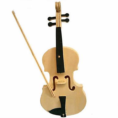 3D puzzle Puzzle Drvene puzzle Violina 3D Uradi sam Drvo