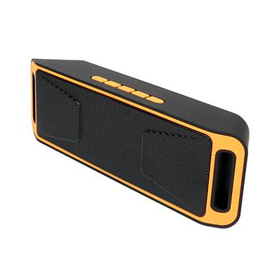 Exterior Portátil Estéreo Suporte de Cartão de Memória Suporte FM Bult-in mic Bluetooth 3.0 AUX 3.5mm USB Alto-Falante Bluetooth Sem Fio