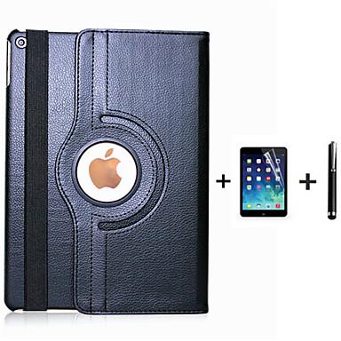 Hülle Für iPad 4/3/2 mit Halterung Automatischer Ruhe / Aktivmodus Origami 360° Drehbar Ganzkörper-Gehäuse Volltonfarbe PU-Leder für iPad