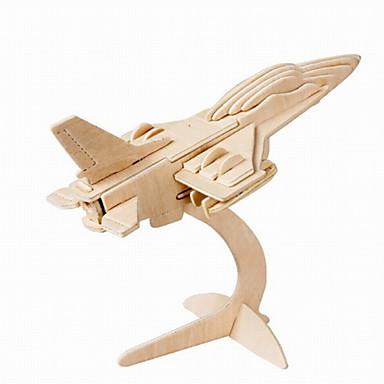 פאזלים אבני בניין צעצועי DIY עץ