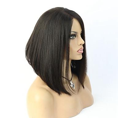 kerroksellinen hiustenleikkaus hiuksista lyhyet liimattoman Nyörilliset bob wigs mustia naisia