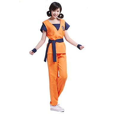 Inspirado por Fantasias Fantasias Anime Fantasias de Cosplay Ternos de Cosplay Estampado Manga Curta Blusa Calças Cinto Para Masculino